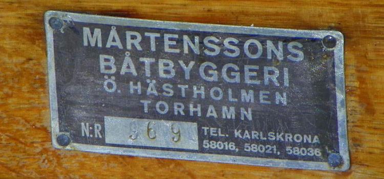 Mats Olssons jaktkanot ID-bricka